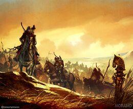 Drogo's khalasar Tomasz Jedruzek, Fantasy Flight Games©.jpg