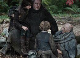 Maestre Luwin moribundo HBO