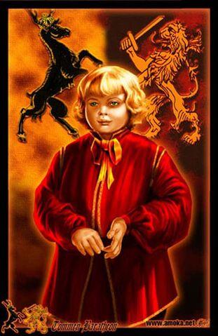 Archivo:Tommen Baratheon by Amoka©.jpg