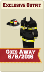 EXCLUSIVE MALE OUTFIT SIGN (FIREMAN INFERNO)
