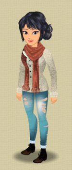 FEMALE OUTFIT (WARM AND COZY)