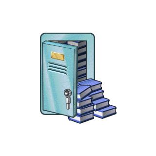 Locker Of Books
