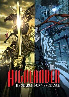 Highlandervengeance poster