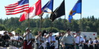 Massed bands (photos)