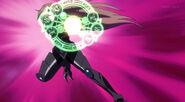Shalba prepares to attack Issei