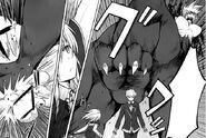 Viser trying to stomp Yuuto