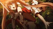 Irina dodging Issei