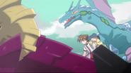 Blizzard Dragon in the anime