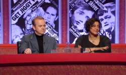 File:Captain Ian Hislop, with guest comedian Meera Syal.jpg