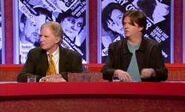 Art critic Brian Sewell with captain Paul Merton