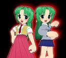 Das Zwillingsschwestern Team