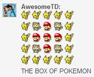 Box of Pokemon