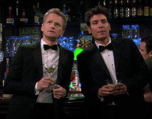 Ted and barney