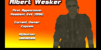 Albert Wesker (Nintendo World)