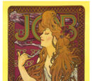 Art Nouveau and hippie art