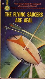 Flying saucers are real cover keyhoe
