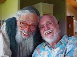 Zalman Schachter-Shalomi & Ram Dass