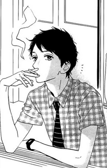 File:Shishio smoking in the window.png