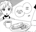 Daichi being given Mamura's breakfast.png