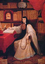 Retrato de Sor Juana Inés de la Cruz (Miguel Cabrera)