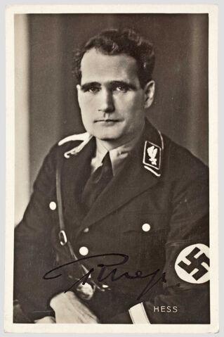 File:Portraite von Rudolf Heß.jpg