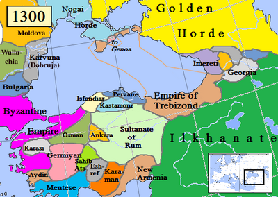 Trebizond Empire-1300