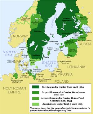 Swedish Empire-1560-1815