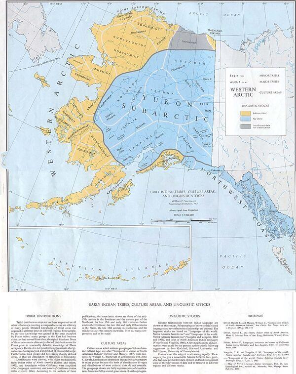 Early Indian Languages Alaska