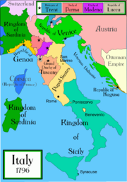 Italy 1796