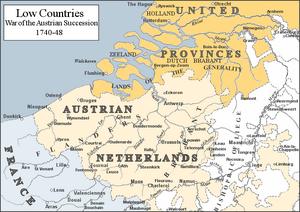 Austrian Netherlands-1740