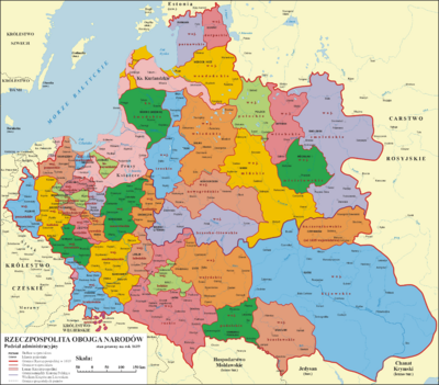 Polish-Lithuanian Commonwealth-1619