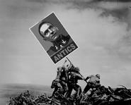 Raising the antics banner