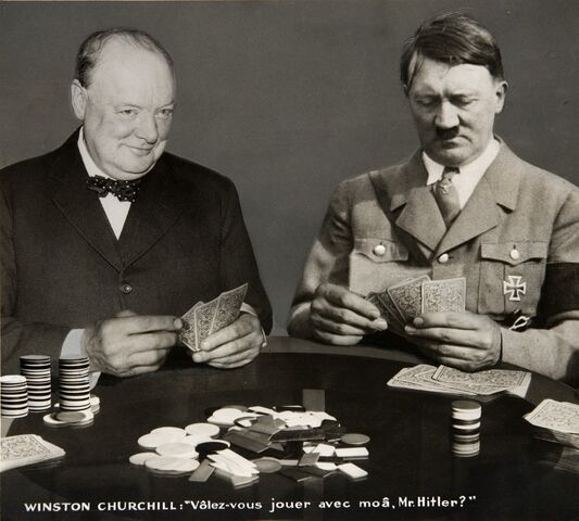 File:Photo Montage Will you play with me, Mr. Hitler, Paris 1940th.jpg