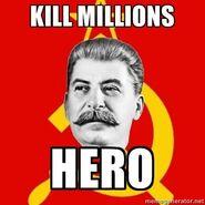 KILL MILLIONS HERO