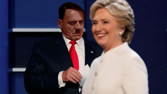 File:Hitler and Clinton 3rd Debate.jpg