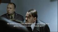 Hitler bunker scene screenshot shouts at burgdorf