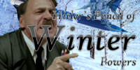 Hitler's Pencil of Winter Powers