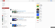 Les Horribles Layouts YouTube homepage November 2012
