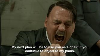 Hitler plans to sit