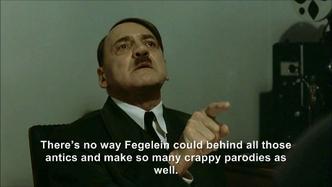 Hitler is informed hitlerrantsparodies is Fegelein
