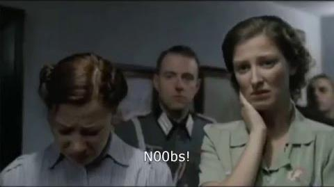 Hitler finds out that Santa isn't real.
