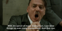 Hitler plans to watch Transformers: Dark of the Moon