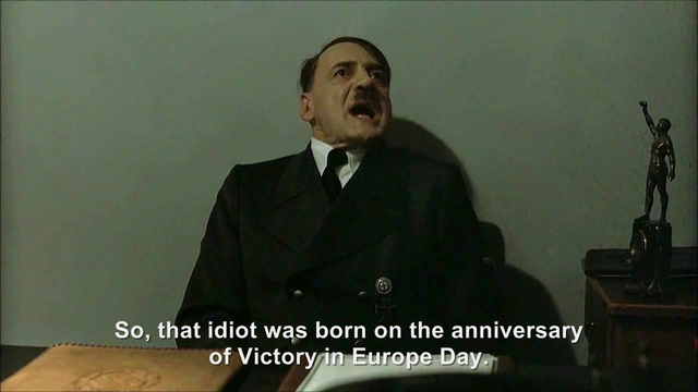File:Hitler is informed hitlerrantsparodies was born on the 8th May 1986.png