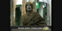Hitler phones Gaddafi