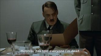 Hitler's Hitler is dead problem