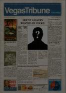 Martinez Newspaper headliner