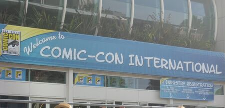 SDCC 2012 - Welcome Banner
