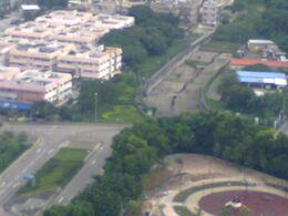 Chung Yan Road And Tung Chung Road Cross