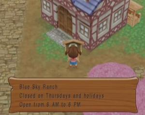 Blue Sky Ranch MM