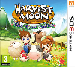 PS 3DS HarvestMoonLostValley UKV